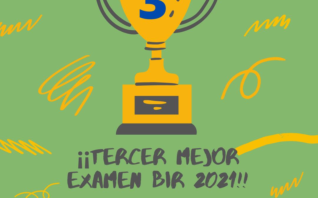 TERCER MEJOR EXAMEN BIR 2021